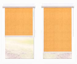 окно с вертикалными жалюзями